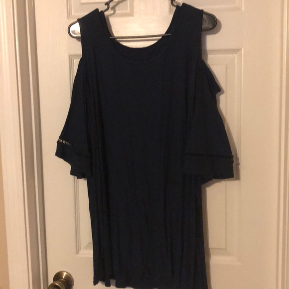 Catherines Tops - Catherine's cold shoulder tunic